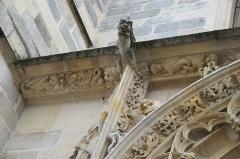 Eglise Saint-Martin - Deutsch: Katholische Pfarrkirche Saint-Martin in Longjumeau im Département Essonne (Île-de-France/Frankreich), Portal aus dem 15. Jahrhundert