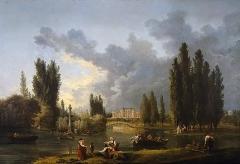 Domaine de Méréville - French painter and drawer