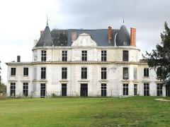 Domaine de Méréville - Français:   Méréville_château, façade arrière