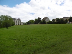 Domaine de Méréville - Français:   Parc de Méréville vue sur le château