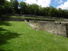 Domaine de Méréville - Français:   Parc de Méréville murs de l\'ancien verger