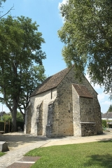 Chapelle Saint-Blaise et des Simples - Deutsch: Kapelle Saint-Blaise-des-Simples in Milly-la-Forêt im Département Essonne (Île-de-France/Frankreich)