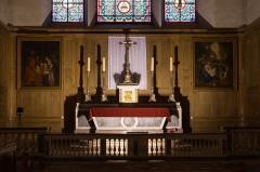 Eglise - English:  High altar