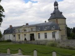 Château - English:   Château in Sainte-Geneviève-des-Bois