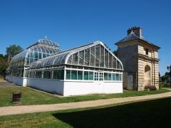 Château - Français:   Orangerie du château de Sainte-Geneviève-des-Bois (Essonne, France)