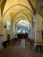 Eglise Saint-Denis - Intérieur de l'église - voir titre.