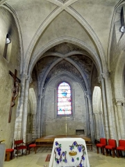 Eglise - Intérieur de l'église - voir titre.