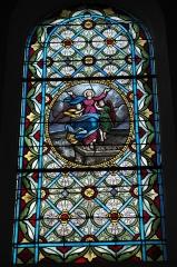 Eglise Saint-Médard - Deutsch: Alte katholische Pfarrkirche Saint-Médard in Clichy im Département Hauts-de-Seine (Île-de-France/Frankreich), Bleiglasfenster