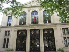 Hôtel de ville -  Hôtel de Ville de Courbevoie, France