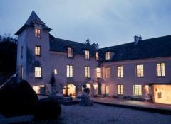 Maison d'Armande Béjart - Français:   Le musée éclairé au crépuscule