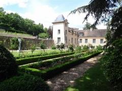 Maison d'Armande Béjart - Français:   Les jardins du musée