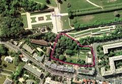 Maison d'Armande Béjart - Français:   Plan des jardins du musée de nos jours.