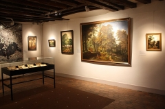 Maison d'Armande Béjart - Français:   Exposition Dans la forêt de Meudon, printemps 2018.