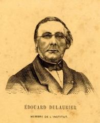 Maison d'Armande Béjart - Français:   Portrait gravé d\'Edouard Dulaurier