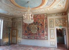 Maison d'Armande Béjart - Français:   Salon du premier étage, peint d\'arabesques. Milieu du XVIIe siècle.
