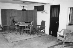 Villa Van Doesburg - Nederlands: Van Doesburghuis: terras onder het atelier aan de achterzijde