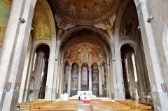 Cathédrale Sainte-Geneviève - Saint-Maurice - Cathédrale Sainte-Geneviève-et-Saint-Maurice de Nanterre vue intérieure