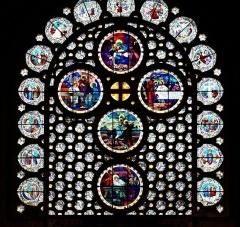 Cathédrale Sainte-Geneviève - Saint-Maurice - Vitrail de la Cathédrale Sainte-Geneviève-et-Saint-Maurice de Nanterre