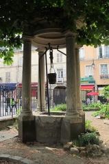 Cathédrale Sainte-Geneviève - Saint-Maurice - English: St. Genevieve water well, in Nanterre, Hauts-de-Seine, France.