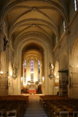 Eglise Saint-Pierre-Saint-Paul -  Eglise Saint Pierre Saint Paul - Rueil-Malmaison - intérieur