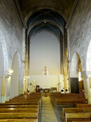 Eglise Saint-Jean-Baptiste - Intérieur de l'église - voir titre.
