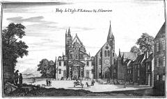 Ancienne abbaye Sainte-Geneviève, actuel lycée Henri IV - Français:   image extraite du livre.