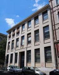 Ancienne abbaye Sainte-Geneviève, actuel lycée Henri IV - Français:   Bibliothèque nordique de la bibliothèque Sainte-Geneviève, 6 rue Valette (Paris, 5e).