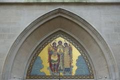 Ancien collège de Beauvais, actuelle église orthodoxe roumaine -  Romanian Orthodox Church @ Paris   Église des Saints-Archanges, 9 Bis Rue Jean de Beauvais, 75005 Paris, France.