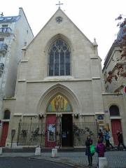 Ancien collège de Beauvais, actuelle église orthodoxe roumaine -  Church @ Paris