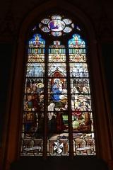 Ancien collège de Beauvais, actuelle église orthodoxe roumaine -  Stained glass @ Romanian Orthodox Church @ Paris   Église des Saints-Archanges, 9 Bis Rue Jean de Beauvais, 75005 Paris, France.