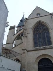 Eglise Saint-Médard - Français:   Paris 5e, église Saint-Médard, vue de l\'extérieur