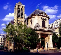 Eglise Saint-Nicolas-du-Chardonnet - English: Saint-Nicolas-du-Chardonnet church - Paris