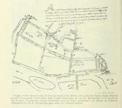 Eglise Saint-Nicolas-du-Chardonnet - English: Plan du canal de Bièvre
