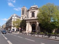 Eglise Saint-Nicolas-du-Chardonnet -  Église Saint-Nicolas-du-Chardonnet, Paris.