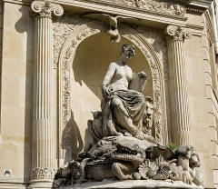 Fontaine Cuvier - English: Cuvier fountain in Paris