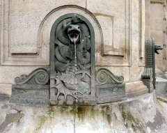 Fontaine Cuvier - English: Cuvier fountain - Paris