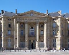 Mairie annexe du cinquième arrondissement - English: La mairie du 5e arrondissement de Paris, place du Panthéon.