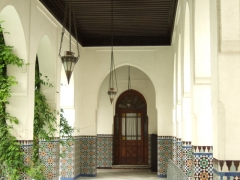 Mosquée de Paris et Institut musulman -  Paris Mosque, first courtyard