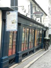Café Le Procope - English: Procope Restaurant from the Cours du commerce Saint-André