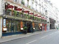 Café Le Procope - English: Le Procope - Rue de l'Ancienne Comédie