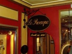 Café Le Procope - English: Le Procope founded 1686