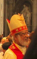 Ancien couvent des Carmes, actuellement Institut catholique de Paris - English: Cardinal George Alencherry, at St. Peter's Chair, on Oct., 11th, 2014