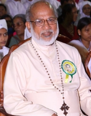 Ancien couvent des Carmes, actuellement Institut catholique de Paris - English: Major Archbishop of the Syro-Malabar Catholic Church Mar George Alencherry
