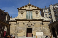 Couvent des Carmes - English: The Church of Saint-Joseph-des-Carmes, a Roman Catholic church situated at 70 rue de Vaugirard in the 6th arrondissement of Paris in the heart of the Séminaire des Carmes.