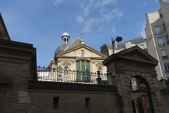 Couvent des Carmes - English:   The Church of Saint-Joseph-des-Carmes, a Roman Catholic church situated at 70 rue de Vaugirard in the 6th arrondissement of Paris in the heart of the Séminaire des Carmes.