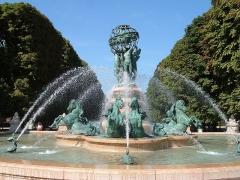 Fontaine de Carpeaux -  Paris jardin du luxembourg