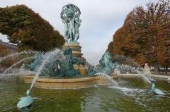 Fontaine de Carpeaux -  Fountain @ Jardin du Luxembourg @ Paris