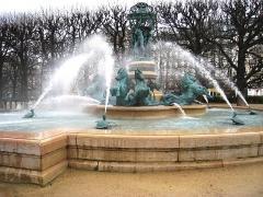 Fontaine de Carpeaux -  Fontaine de l'Observatoire, Paris, France. Designed by Davioud, Carpaux, and Frémiet in 1873. Copyright (if any) has long since expired on the original work.