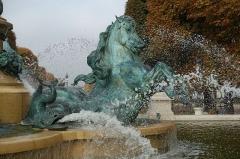 Fontaine de Carpeaux -  Horse Fountain @ Jardin du Luxembourg @ Paris