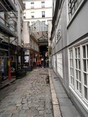 Passage de la Cour du Commerce Saint-André (voir aussi : Enceinte de Philipe-Auguste) -  Paris for SIAM PP 2016